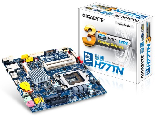 GIGABYTE H77TN Thin Mini-ITX