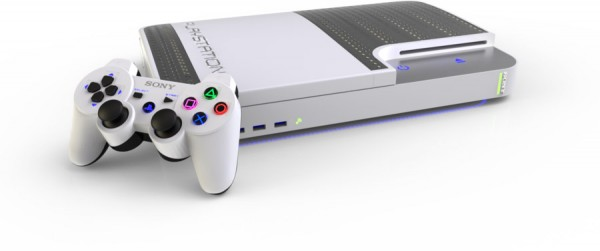 PlayStation 4 Mockup