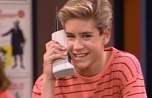 Zach Morris 80s Phone