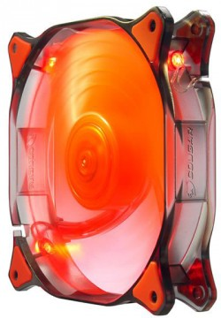Cougar Dual X Red Fan