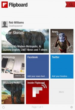 Flipboard Android 01