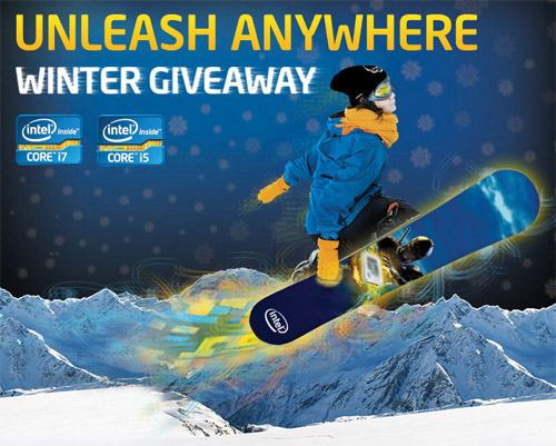 Intel Snowboard Contest