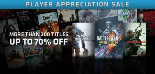 Origin Spring Player Appreciation Sale