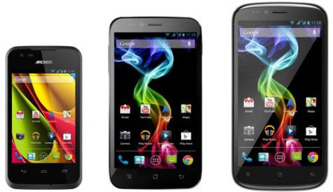 ARCHOS 35 Carbon 50 Platinum and 53 Platinum