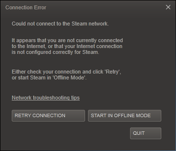 Steam Connection Issue