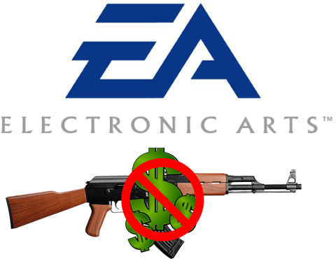 EA not paying for guns