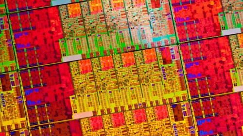 Intel Haswell Wafer Shot