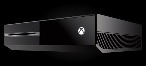 Microsoft Xbox One Console Angled