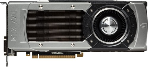 NVIDIA GeForce GTX 770 Top-view