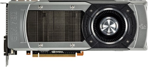 NVIDIA GeForce GTX 780 Front View
