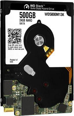 WD UltraSlim Black 500GB