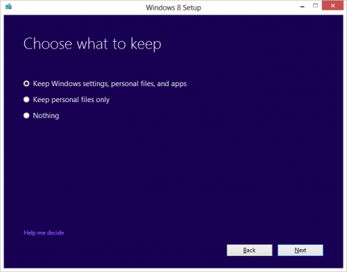 Windows 8 DVD Installer