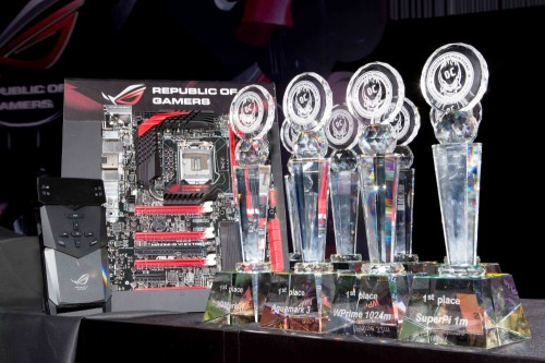 ASUS Maximus VI Extreme Overclocking Competition