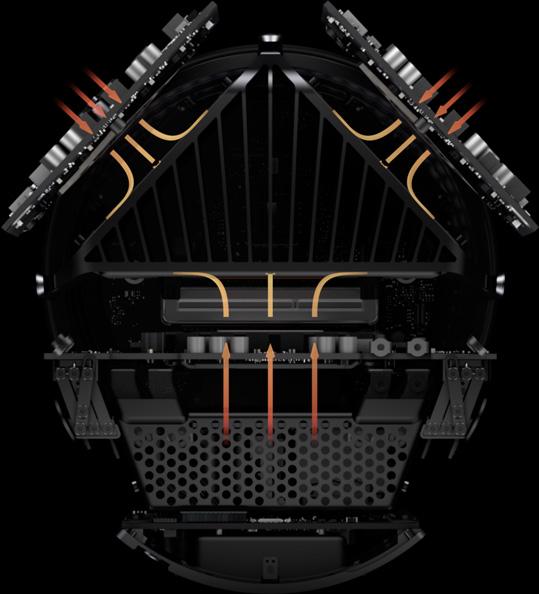 Apple Mac Pro 2013 Thermal Core