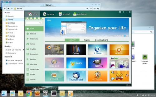 A Look at Linux Deepin 12.12
