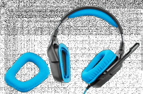 Logitech G430 Headset Angle