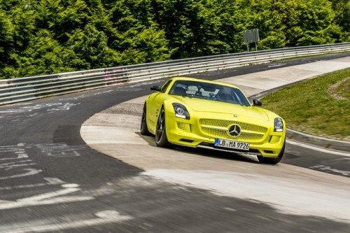 Mercedes-Benz Electric Nurburgring