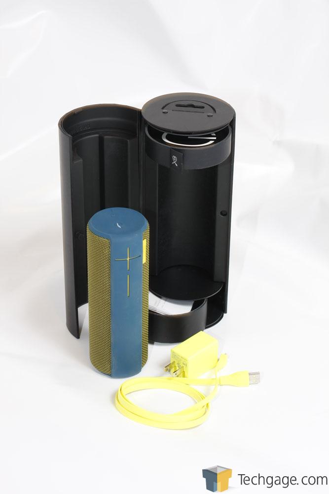 Logitech UE BOOM Portable Speaker Review – Techgage
