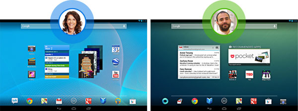 Android 43 Multi-user Profiles