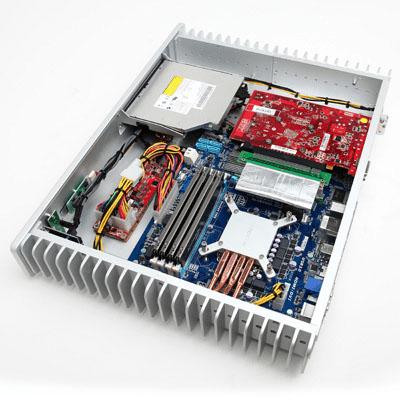 CyberPowerPC Zeus HTPC Opened