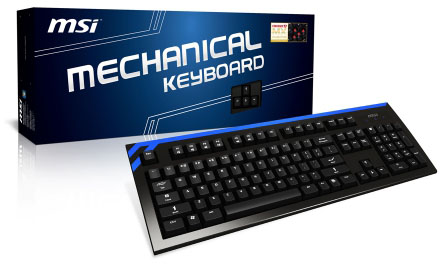 MSI CK Mechanical Keyboard Packaging