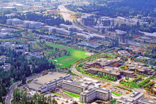 Microsoft Campus Redmon Washington