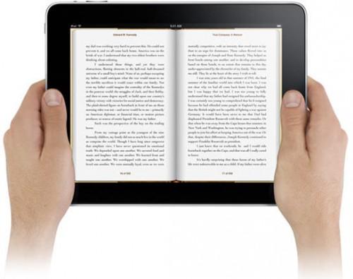 iPad Book Reading