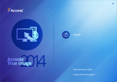 Acronis True Image 2014 Installer