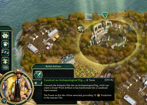 Civilization V Brave New World - Archaeological Dig