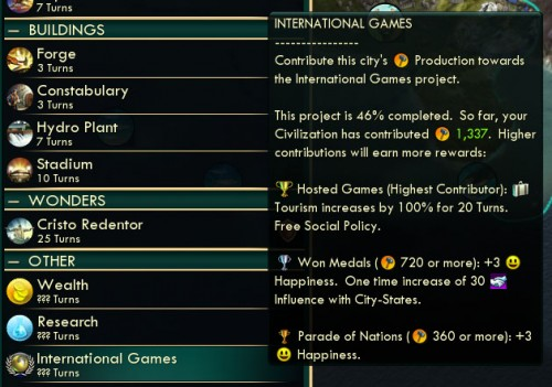 Civilization V Brave New World - International Games