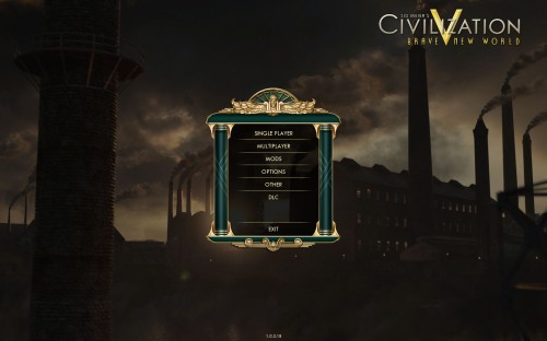 Civilization V Brave New World - Title Screen