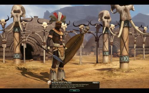 Civilization V Brave New World - Zulu