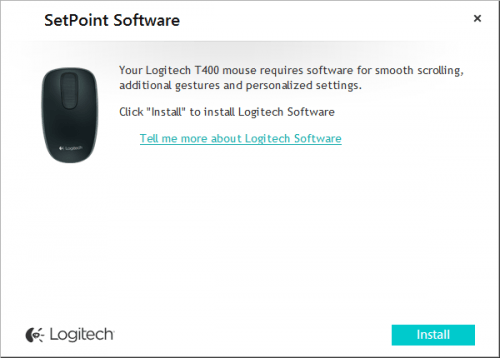 Logitech Notifier Under Windows 8