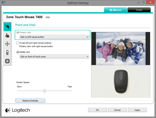 Logitech SetPoint Point and Click