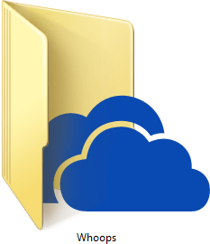 Microsoft SkyDrive Whoops
