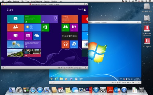 Parallels Desktop for Mac 9 - Windows 8 Enterprise and Windows 7