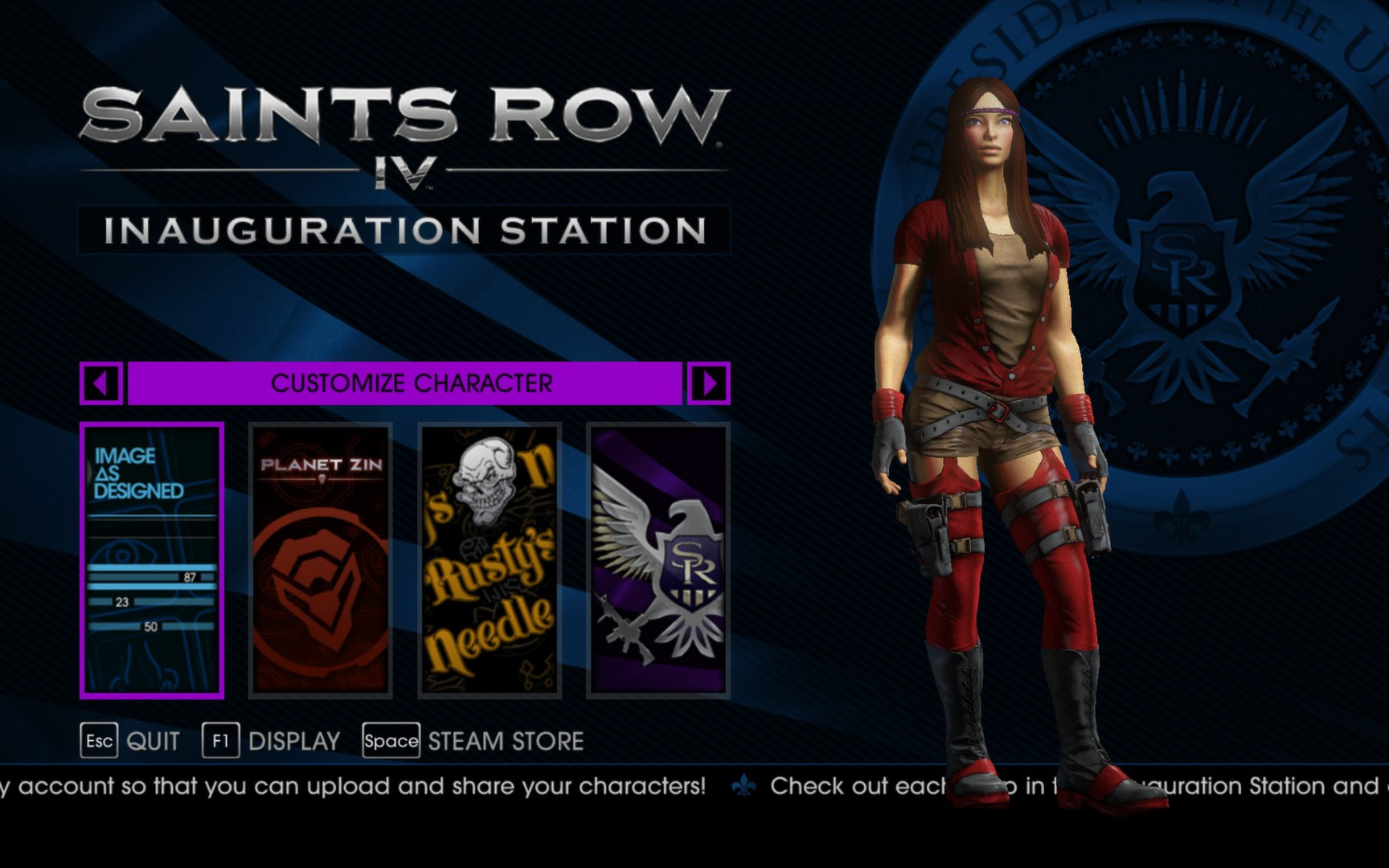 Saints Row Anime Character Creation : Create your saints row iv character early with