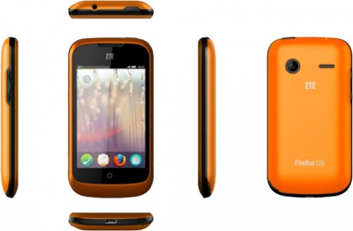 ZTE Open Firefox OS Smartphone
