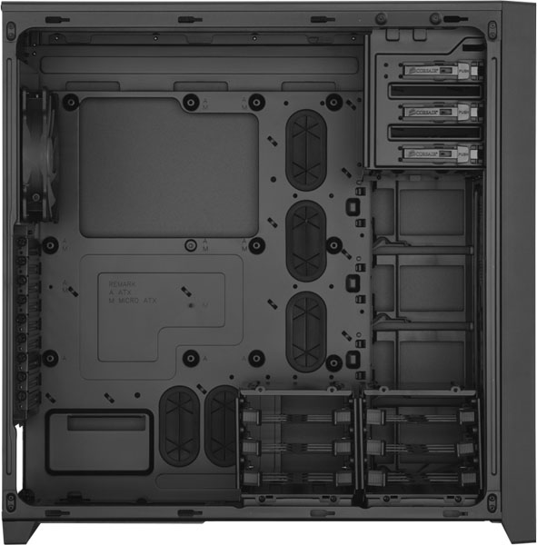 Corsair Obsidian 750D Full-Tower Chassis Interior