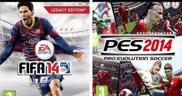 FIFA 14 and PES 2014 PlayStation 2 – Techgage