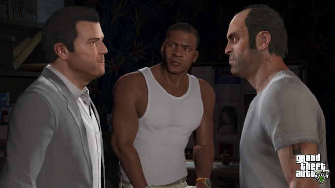 Grand Theft Auto V Characters