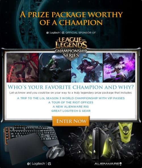 Logitech LoL Season 3 Championship