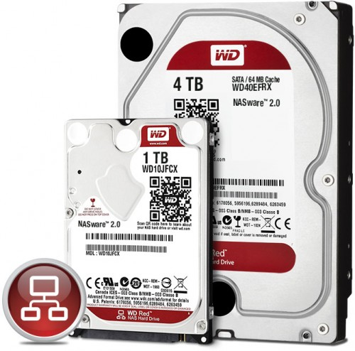 WD Red 4TB and SFF NAS Hard Drives