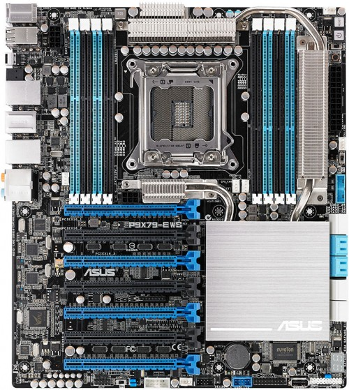 ASUS P9X79-E WS Workstation Motherboard