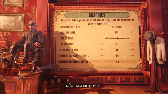 BioShock Infinite Benchmark Settings