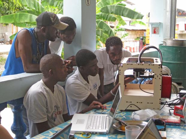 Haiti 3D Printer