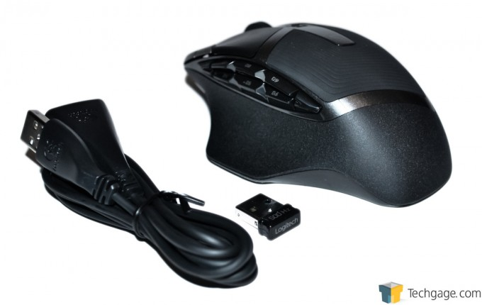 Logitech G602 Wireless Gaming Mouse 09