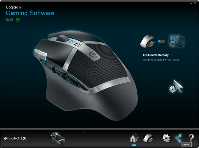 Logitech G602 Wireless Gaming Mouse 16