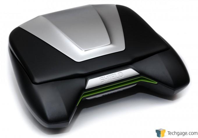 NVIDIA SHIELD Gaming Portable - Closed