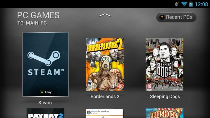 NVIDIA SHIELD GameStream Games List